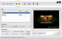 Screenshot programu 123 DVD Ripper 1.0