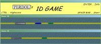 Screenshot programu 1D game