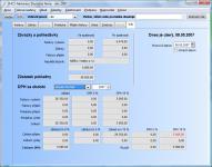Screenshot programu 2HCS Fakturace 3.11.24