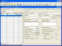 Screenshot programu 2HCS Majetek 2.7.157