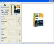 Screenshot programu 3D Box Shot Maker 1.957