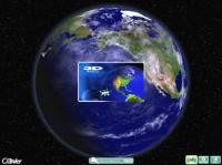 Screenshot programu 3D Earth Screensaver