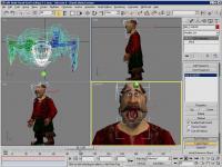 Screenshot programu 3Ds MAX 8