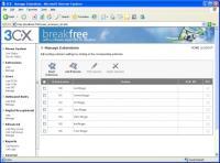 Screenshot programu 3CX Telefonní Ústředna 5.1  v4128