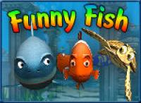 Screenshot programu 3D Funny Fish Screensaver 1.19