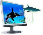 Screenshot programu 3D Marine Aquarium Screensaver