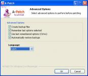 Screenshot programu A-Patch for Windows Live Messenger 2012 1.43.22