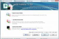Screenshot programu A-PDF Publisher to PDF 3.8.0