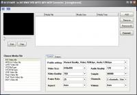 Screenshot programu A123 MOV to AVI WMV DVD MPEG MP4 MOV Converter 4.1
