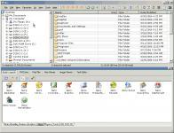 Screenshot programu A43 File Management Utility 3.50