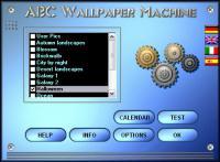Screenshot programu ABC Wallpaper Machine 2.20.0550