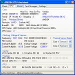 Screenshot programu AMD64 CPU Assistant 0.10.3.366