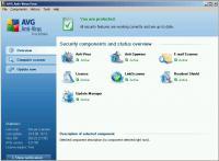 Screenshot programu AVG Anti-Virus Free Edition 2013.0.2667