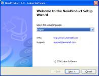 Screenshot programu AWinstall 4.6