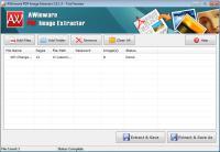 Screenshot programu AWinware PDF Image Extractor 1.0.1.3