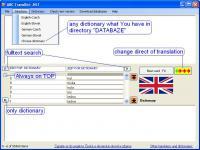 Screenshot programu ABC TransDict .NET 3.7.5.0