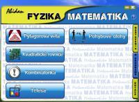 Screenshot programu Abidan Fyzika-Matematika 2.0