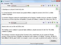 Screenshot programu Ace Translator 11.5.0.900