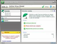 Screenshot programu Active Virus Shield 6.0.2.621