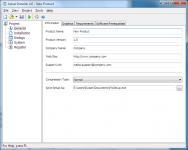 Screenshot programu Actual Installer 5.3