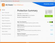 Screenshot programu Ad-aware Free Antivirus+ 11.9.696
