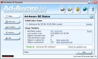 Screenshot programu Ad-aware SE 1.06