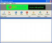 Screenshot programu AD - Stahovač souborů 1.0