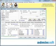 Screenshot programu Adminsoft Accounts 4.135