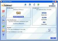 Screenshot programu AdSubtract PRO 3.06