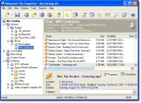 Screenshot programu Advanced File Organizer 3.01
