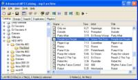 Screenshot programu Advanced MP3 Catalog Pro 3.36