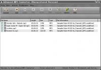 Screenshot programu Advanced MP3 Converter 5.0