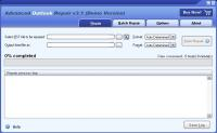 Screenshot programu Advanced Outlook Repair  3.1
