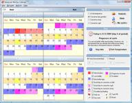 Screenshot programu Advanced Woman Calendar 4.2