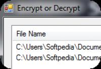 Screenshot programu AES Encryptor 2.3.2.150