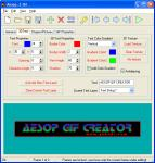 Screenshot programu Aesop Banner maker  1.6