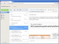 Screenshot programu AfterLogic WebMail Lite PHP