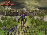Screenshot programu Age of Mythology: The Titans Expansion