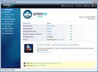 Screenshot programu Agnitum Outpost Firewall Pro 9.2