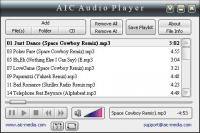 Screenshot programu AIC Audio Player 1.5.2.29