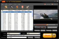 Screenshot programu AinSoft Blu-ray To iPod Converter 1.02.02