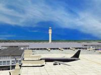 Screenshot programu Airport Control Simulator