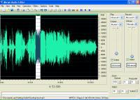 Screenshot programu AKRAM Audio Editor 2.2