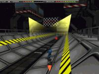 Screenshot programu Alien Racer