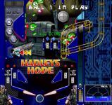 Screenshot programu Aliens Pinball Revisited 1.0