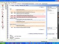 Screenshot programu Alive Organizer 3.11