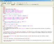 Screenshot programu Alleycode HTML Editor 2.21