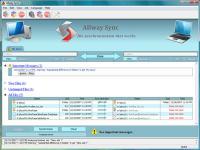 Screenshot programu Allway Sync n Go 12.0.12