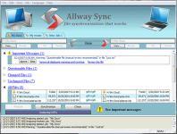 Screenshot programu Allway Sync 15.3.0