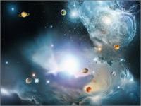 Screenshot programu Alpha Galaxy Screensaver